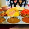 シタール - 料理写真:ランチバイキング。カレーもナンもサイドメニューも食べ放題で1,000円未満。