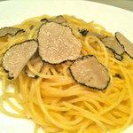 トラットリア オットブラータ - サマートリュフのスパゲッティ
