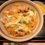 そば処 吉まん - 親子丼 840円
