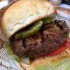 炭焼きレストランさわやか - 料理写真:炭焼きハンバーガー