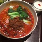 81901321 - 担々麺と杏仁豆腐