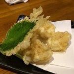 牡蠣海鮮料理 かき家 こだはる - 白子天ぷら