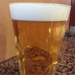 とんかつ にいむら - 生ビールは580円