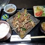 Matsunagabokujou - 松永 焼肉定食