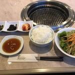 高麗飯店 - ライス・スープ・キムチ