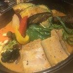 Rojiura Curry SAMURAI.  - チキンハーフと豚の角煮カレー5辛マイルド