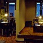 焼肉Furano Gen場 - 椅子席や小上がりが7席 きれいです