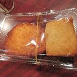 大學堂 大學丼食堂 - 小倉かまぼこ店のカナッペと関門タコ天を持ち込み。