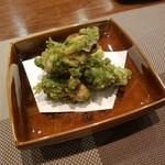 81913431 - 「牡蠣の青のり天ぷら (1000円)」