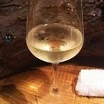 串揚げキッチン だん - 白ワイン