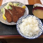 そば一久 - 料理写真:アジフライ定食