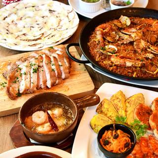 【人気メニュー】スペイン料理