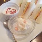 煎豆茶館 杣 - モーニングのポテトサラダ