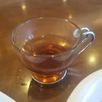 煎豆茶館 杣 - 「ウェルカムドリンク」は、ハーブティでした