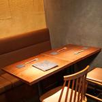 ぽつらぽつら - テーブル席 ②