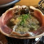 旬魚たつみ - 蟹味噌です。