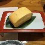 旬魚たつみ - 美味しい卵焼きです。