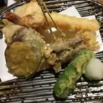 旬魚たつみ - 天ぷらもあります。