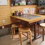 お好み焼き ひらの - テーブル席