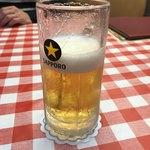 洋食 大吉 - 生ビール:思わず飲んじゃいました