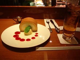 グラマシー ニューヨーク 高島屋日本橋店 - これがロールケーキセットだっ♪