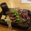 生け簀の銀次 - 料理写真:県産アグーの新鮮内蔵2種溶岩焼き
