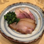 饗 くろ喜 - 「富士幻豚焼豚」500円