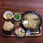 太船 - ニシン蕎麦 ¥900 かやくご飯定食¥250