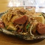 81920353 - 糸満産宇那志豆腐~ちぎり豆腐の豆腐チャンプルー