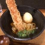 本町製麺所 天 - 竹玉天うどん750円税別
