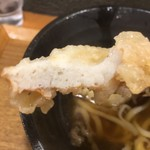 本町製麺所 天 - ちくわ天断面