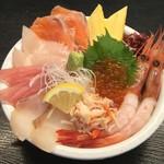 どんぶり茶屋 - 海丼 1780円
