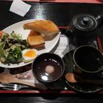 あべまき茶屋 - 朝セット