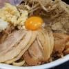 自家製太麺 ドカ盛 マッチョ - 料理写真: