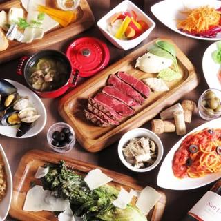 【歓送迎会にオススメ!豪華な塊肉が堪能できるコース!!】