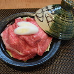 料理 吉祥寺 わるつ - 神戸牛の酒蒸し