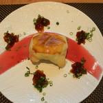 料理 吉祥寺 わるつ - フォアグラと筍のパイ包みポンズジュレ添え