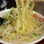 竹ちゃんタンメン - 麺