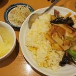 栄児 家庭料理 - ・「五目あんかけチャーハン(\850)」