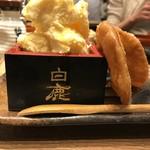 肉汁餃子製作所 ダンダダン酒場 - 餃子アイス