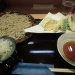 竹乃屋 - 天せいろ(税込1,300円)