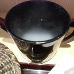 竹乃屋 - 蕎麦湯