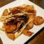 81925506 - 海老とマコモ茸の豊栄醤炒め