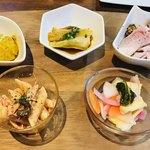cafe&BistroKitchen Belle anse - お惣菜5種
