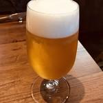 cafe&BistroKitchen Belle anse - 生ビール