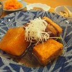 食堂たんと - 豚ばらと大根のこっくり煮