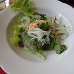 カフェ・エスプリ - ランチセットのサラダ