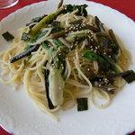 カフェ・エスプリ - 山菜の和風スパゲティ