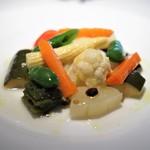 コート ドール - 季節野菜のエチュベ コリアンダー風味