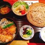81934465 - 天丼ランチ膳1300円